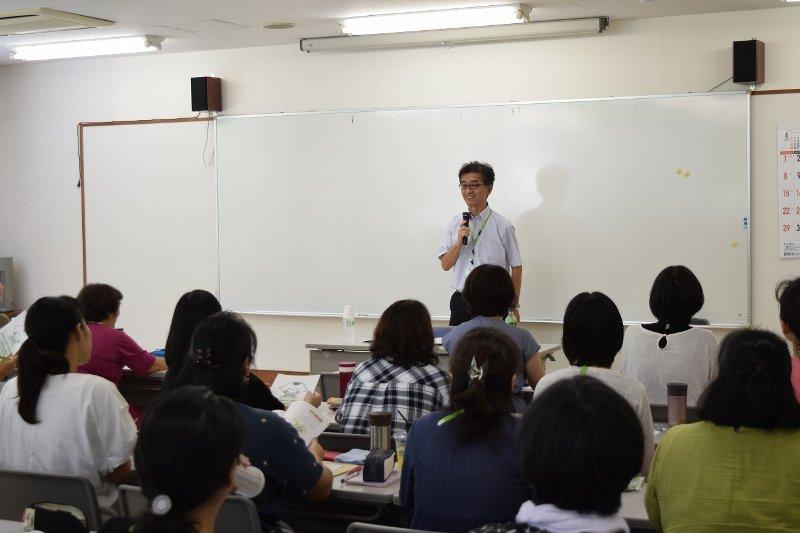講師は、コープデリ生活協同組合連合会 CSR推進部 岩佐 透部長