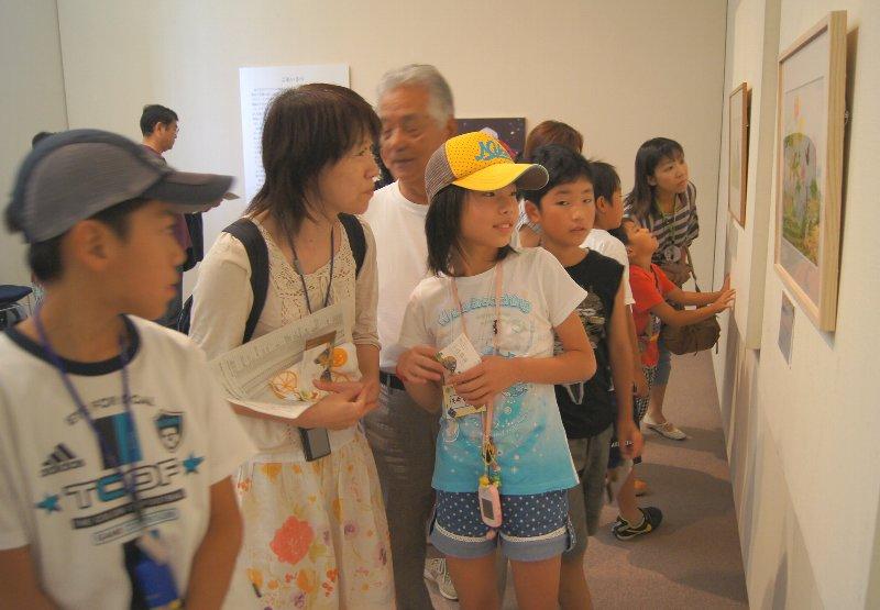 茨城県近代美術館の様子