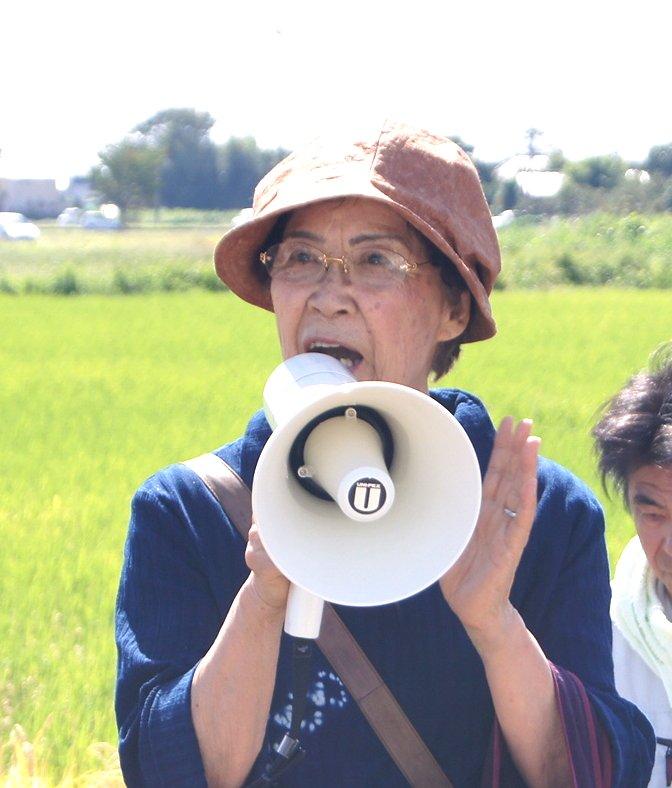 いばらきコープ元理事長 大崎信子様