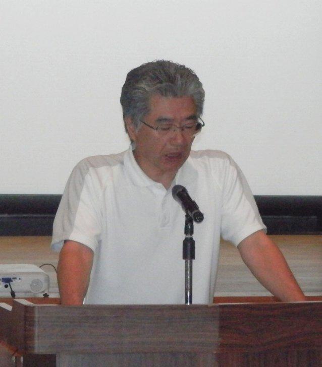 事例報告する田中利幸さん