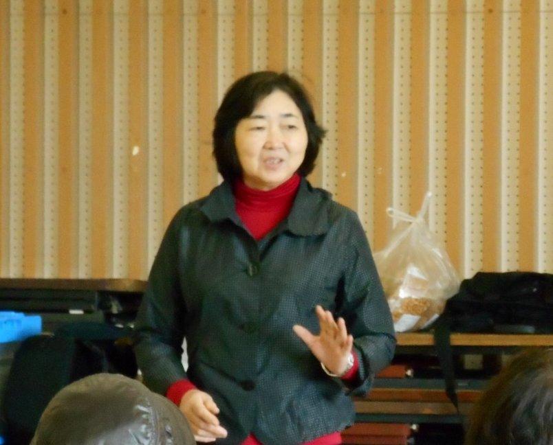 「かあちゃんの力プロジェクト協議会」代表 渡辺とみ子様