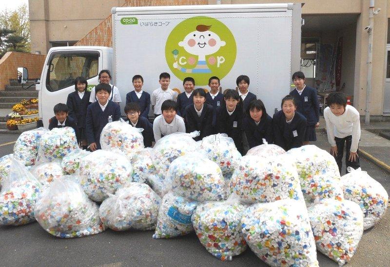 水戸市立見川小学校 環境整備委員会の皆さん